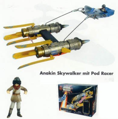 Star Wars Episode 1 gt; Anakin Skywalkers Pod Racer with Anakin Vehicle