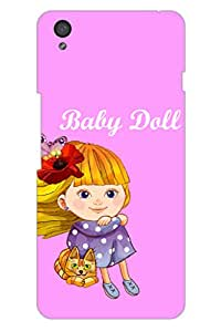 SRS Baby Doll 3D Back Cover for OnePlus X
