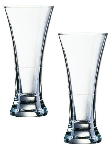 arcoroc-martigues-pernod-verre-16cl-with-white-ring-sans-repere-de-remplissage-12-verres