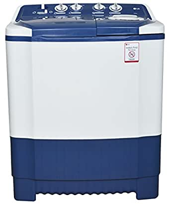LG P7556R3FA Semi-automatic Top-loading Washing Machine (6.5 Kg, Dark Blue)