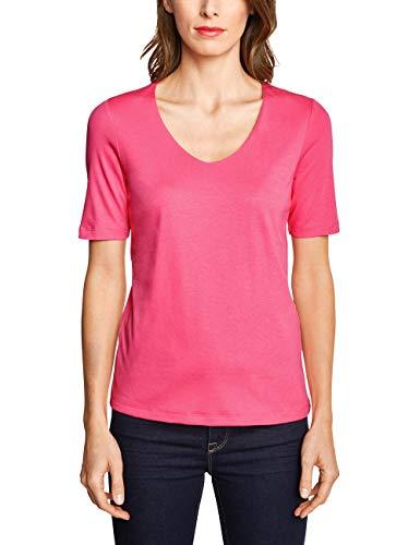 Street One Damen Palmira T-Shirt, Rosa (Blossom pink), 42