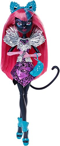 Mattel Monster High CJF27 - Buh York, Falsches Spiel Catty Noir, Puppe