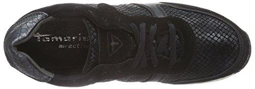 Tamaris 23602, Sneakers basses femme Multicolore - Mehrfarbig (Blk/Blk Struct 052)