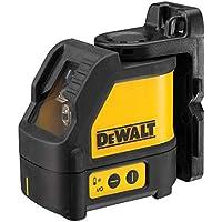 DeWalt DW088K-XJ - Láser autonivelante (2 líneas en cruz, orizontal y vertical), color negro y amarillo