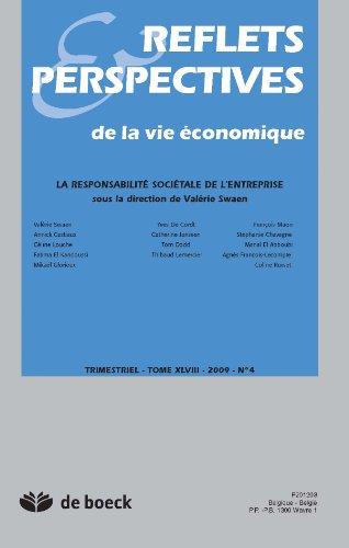 Reflets et Perspectives de la Vie Econom...