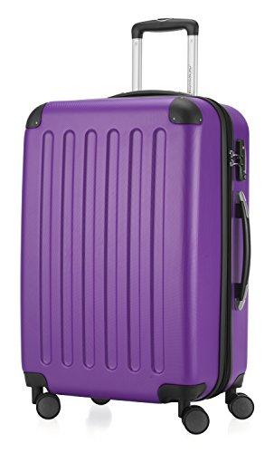 HAUPTSTADTKOFFER - Spree - Valise à coque dure Aubergine mat, TSA, 65 cm, 82 litres