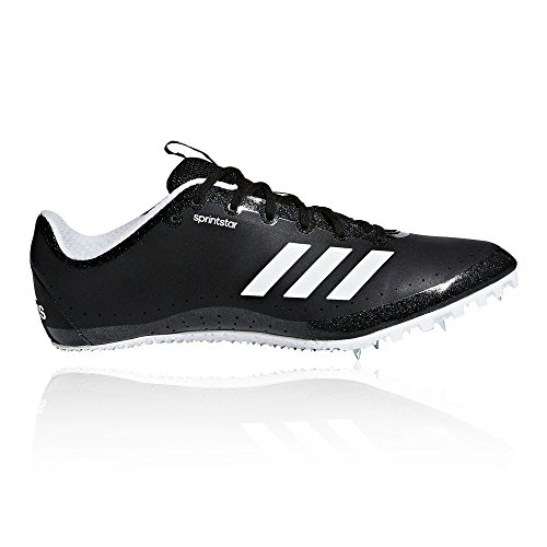 adidas Damen Sprintstar Leichtathletikschuhe, Schwarz (Negbas/Naranj/Ftwbla 000), 38 EU