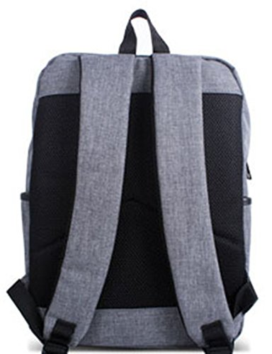 Keshi Canvas New Style Girls Backpack Satchel Grigio