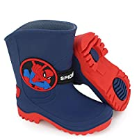 Jiamuxiangsi- Rain Boots - Marvel Student Shoes, Boys Big Children Water Shoes Baby Shoes -Kids Rain Boots