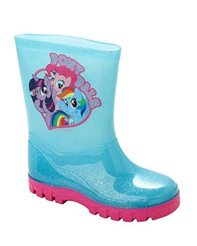 Girls My Little Pony Glitter Wellies Wellington RAIN Snow Welly Boots Size 6-12