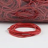 Anelli Di Gomma Rosso | estensibile | diverso diametro | sacchetto 1kg | elastici | bilancio elastici, per legare, fissare o fai da te/