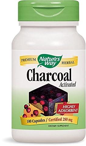 Nature's Way, Activated Charcoal (Aktivkohle), 280mg, 100 Kapseln