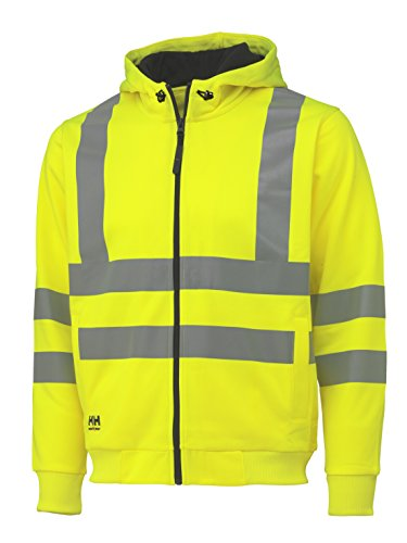 Helly Hansen Kapuzenshirt High Vis Hoodie 79017 Warnschutz Jacke 360 XL