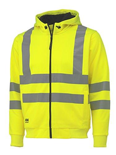 Helly Hansen Kapuzenshirt High Vis Hoodie 79017 Warnschutz Jacke 360 XXL (Hoodie Klasse)