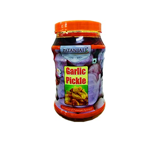 Baba Ramdev Patanjali GARLIC PICKLE 500GM,500gm