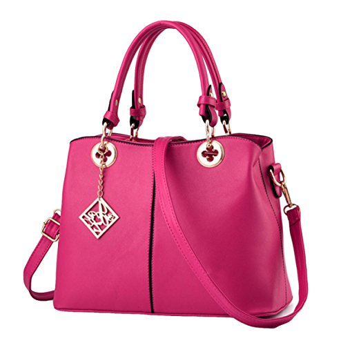 Handtaschen Mode Casual Handtaschen Umhängetasche Messenger Bag Handtaschen Modische Mode Pink