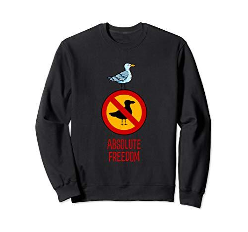 Absolute Freiheit und Rebellion - Die Möwe, die Sartre las Sweatshirt
