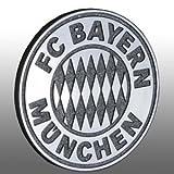 3D AUTO CHROMLOGO CHROM LOGO FC BAYERN MÜNCHEN FCB