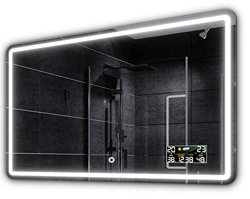 Alasta® Espejo | LED Espejo luz | 70x90 | Madrit