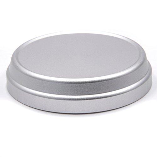 vhbw Metall Objektivdeckel 60mm Silber für Kamera Fuji/Fujifilm X100, X100s, X100T