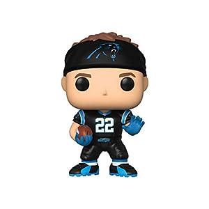 Funko- Pop Figura De Vinil: NFL: Panthers-Christian McCaffrey (Home Jersey) Coleccionable, Multicolor (42874)