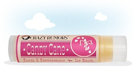 CRAZY RUMORS - Baume Lèvres Collection Candy Cane - PLUM & PEPPERMINT