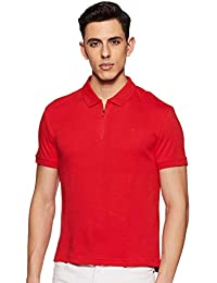 Levi's Men's Solid Regular Fit Polo