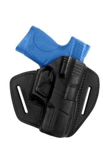 VlaMiTex U5 100% Leder IPSC Schnellziehholster für Smith & Wesson M&P 9 compact (M Smith P Wesson)