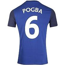 FFF:camiseta FFF, Paul Pogba,colección oficial de la Selección Francesa de fútbol,talla infantil, Niño, azul, 12 años