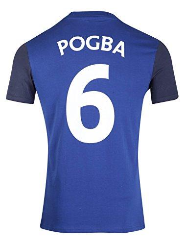 Equipe de FRANCE de football T-Shirt FFF - Paul Pogba - Collection Officielle Taille Adulte Homme L