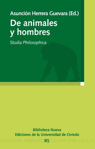 DE ANIMALES Y HOMBRES (Razón y Sociedad) por VV. AA.