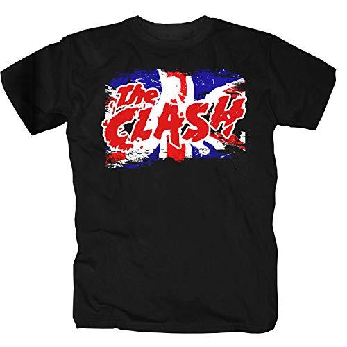 The Clash T-Shirt (XXL, schwarz)