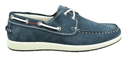Imac Herren Tracker Bootschuhe Blu (Navy/Bianco)