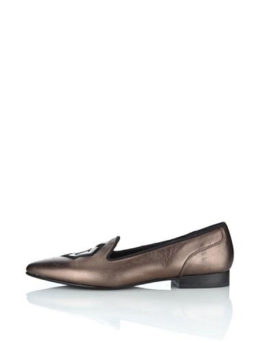 Slippers John Galliano Bronze 40 EU