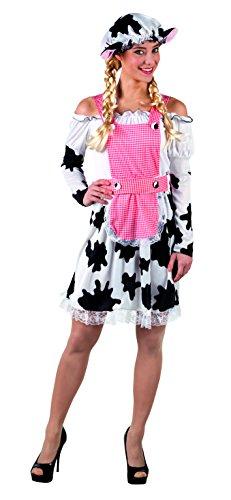 hsenenkostüm Milkmaid, weiß (Kuh-make-up Für Halloween)