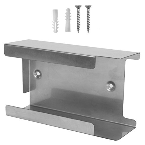 Handschuh-Spender Edelstahl  Für 1 Box M (22 x 12.5 x 7.3) Silber