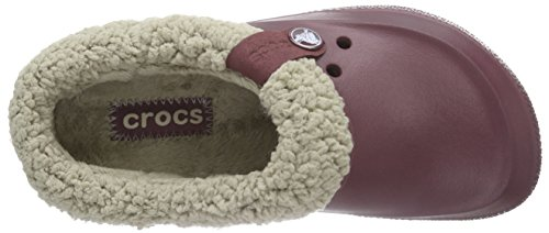 crocs Blitzen II Unisex-Erwachsene Clogs Rot (Burgundy/Clay)