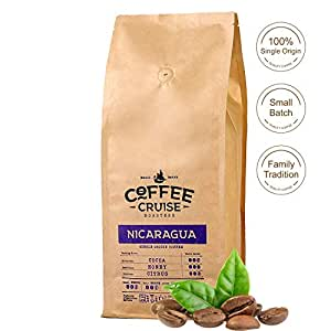 COFFEE CRUISE © Grains de café Single Origin - Nicaragua - 1 kg - 100% Arabica