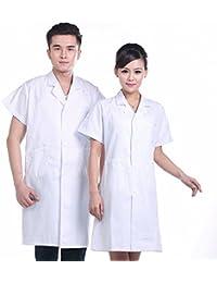 Xuanku Médicos, Batas Blancas, Doctores, Vestidos De Blanco, El Verano Y El Otoño De Manga Corta, Batas Blancas, Farmacias,…