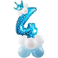 Provide The Best 30inch-Folien-Ballone Digit Air Ballons Alles Gute zum Geburtstag Hochzeit Dekoration Jahrestag Ballon-Event-Party Supplies