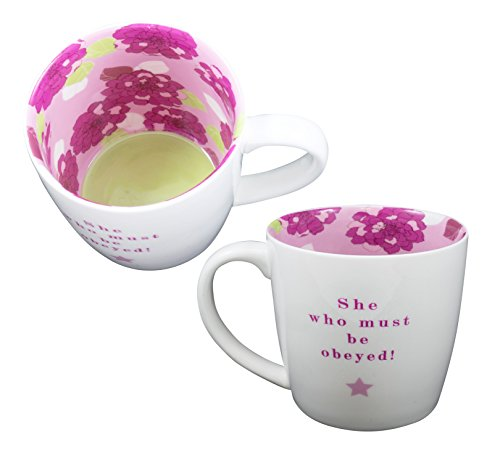 She Who Must Be Obeyed Inside Out Mug In Gift Box Special Mugs Gifts Her