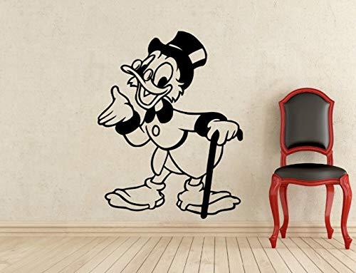 wandaufkleber 3d Wandaufkleber Schlafzimmer Kreative New Opa Donald Duck Kostüm Kids Name Baby Wandaufkleber für Kinderzimmer nach - Familie Duck Kostüm