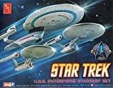 A-AMT660 AMT 1:2500 - Enterprise 3 Kit Set Inc. NCC1701,A plastic model kit