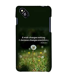 printtech Cool Quotes Life Back Case Cover for Micromax Bolt D303