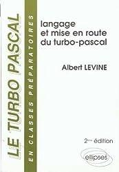 Le Turbo Pascal Tome 1 : Le langage
