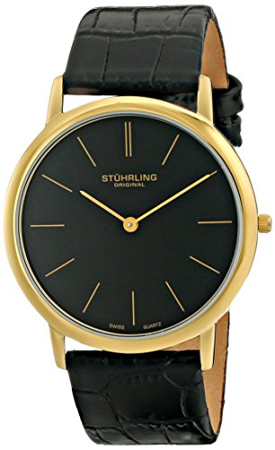 stuhrling-original-classic-ascot-mens-quartz-watch-with-black-dial-analogue-display-and-black-leathe