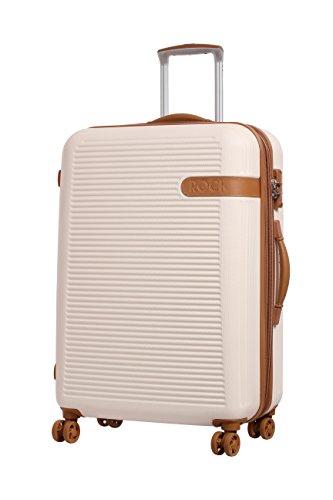 Rock ,  Koffer beige cremefarben Medium - 71 x 49 x 30/37.5cm - 3.9 kg