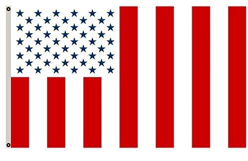 flylife groß Flagge Vereinigten Staaten Civil beanstandet die Vereinigten Staaten Civil Flagge nach ein, Conspiracy Theory Flagge 3x 150Banner -