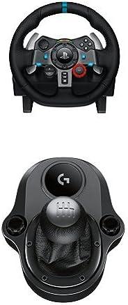 Logitech G29 Driving Force Volante da Corsa per PS4/PS3/PC e Driving Force Manopola del Cambio