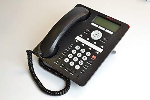 Avaya 700458532-700458532-IP-Telefon/1608-i schwarz (Zertifiziert und Generalberholt)
